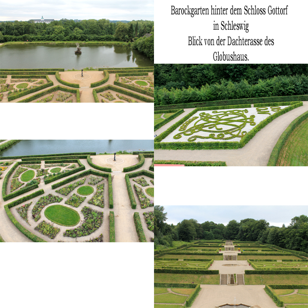Barockgarten Collage