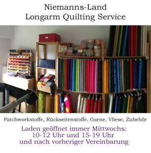 Ladengeschäft: immer Mittwochs von 10-12 Uhr und 15 – 19 Uhr geöffnet